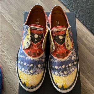 DSquared Tie Dye Sneakers